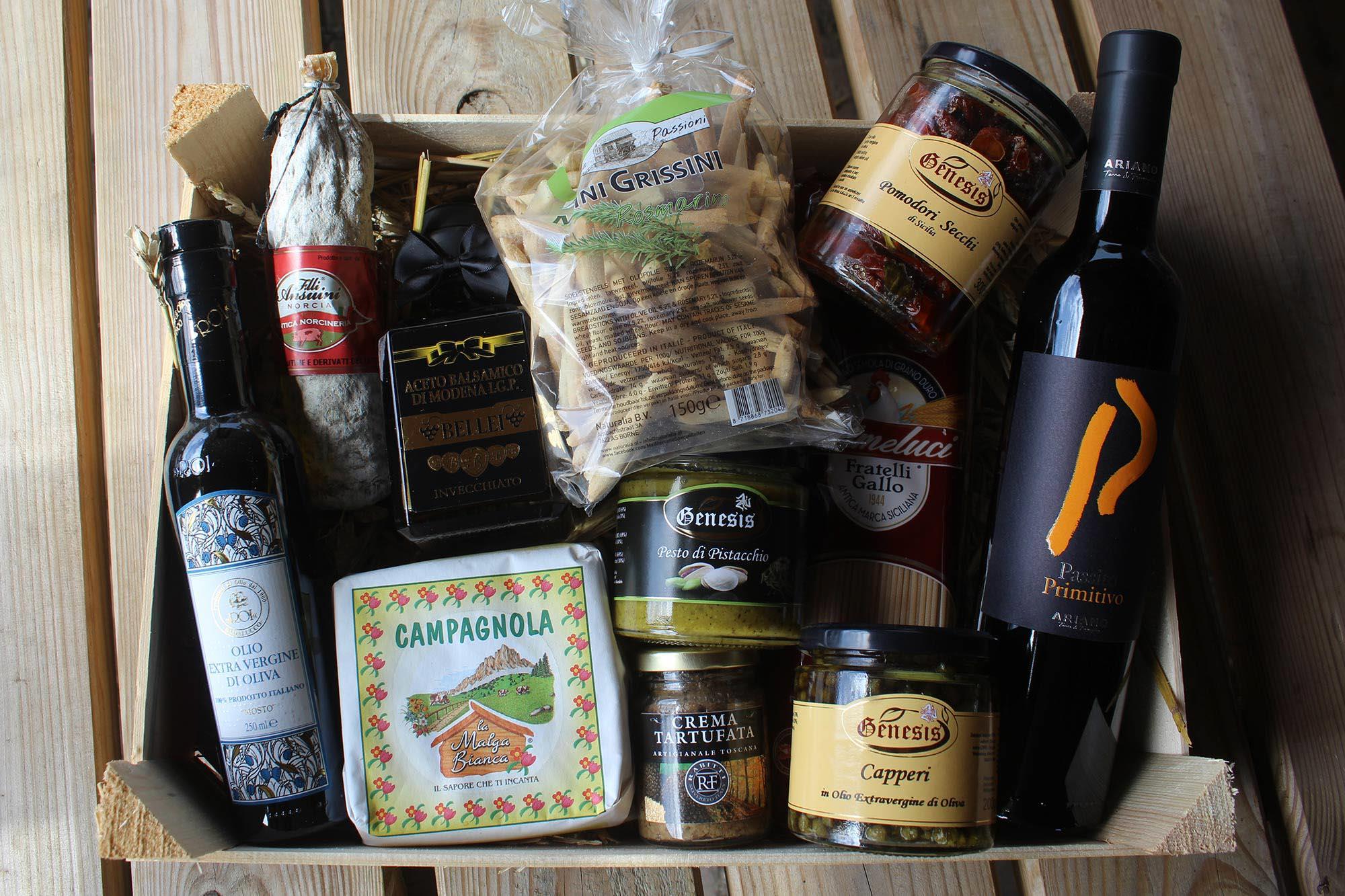 Italiaanse cadeaupakketten