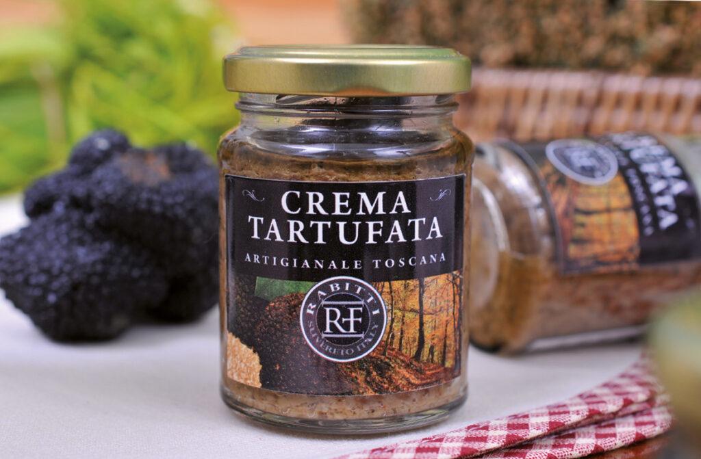 Paddenstoelentapenade met truffel van Azienda Agricola Rabitti Toscane truffelproducten