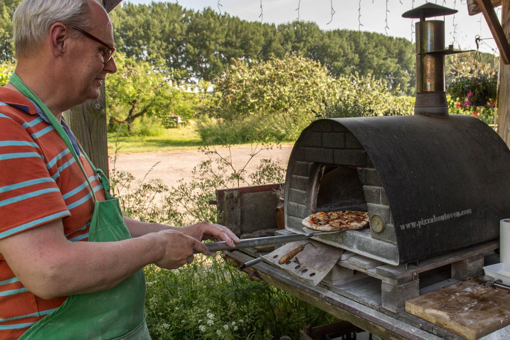 Pizzabakken workshop Landrucci Utrechtse platteland