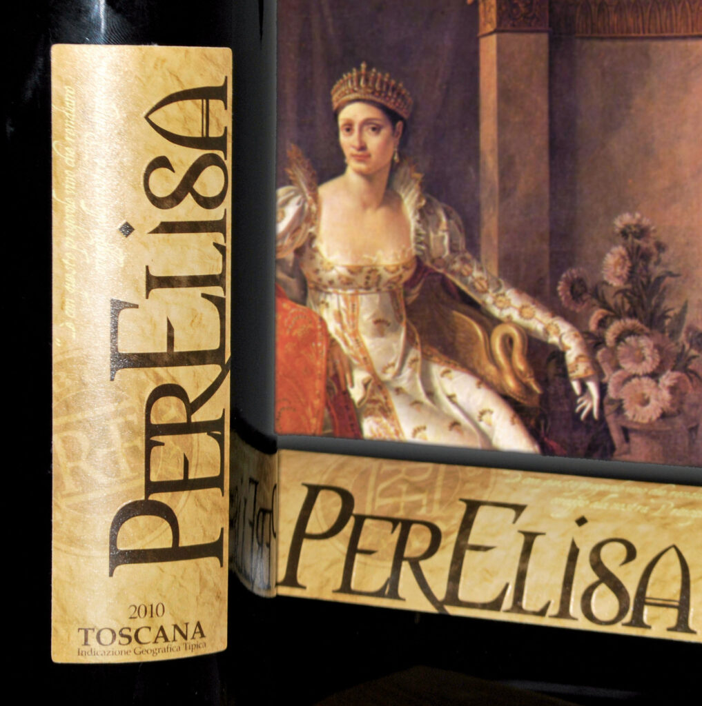 Rode wijn PerElisa van Azienda Agricola Rabitti Toscane Italiaanse wijn
