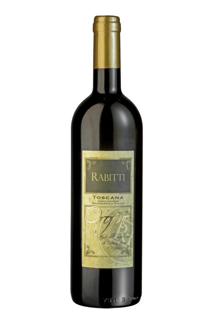 Witte wijn Orofino van Azienda Agricola Rabitti Toscane Italiaanse wijn