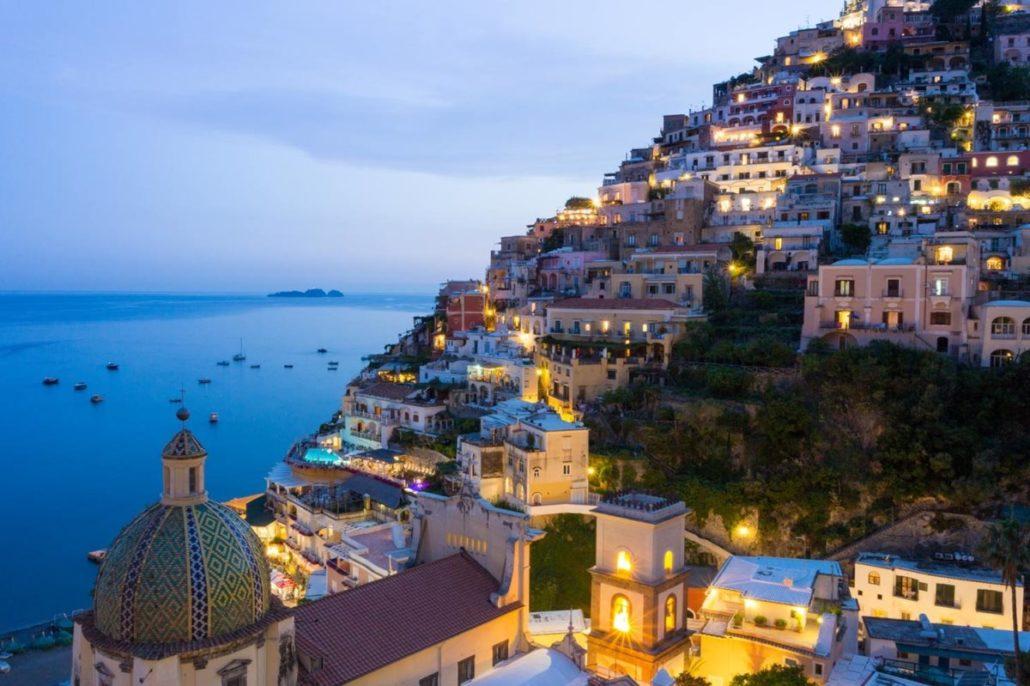 Italië Amalfikust bedrijfsuitje