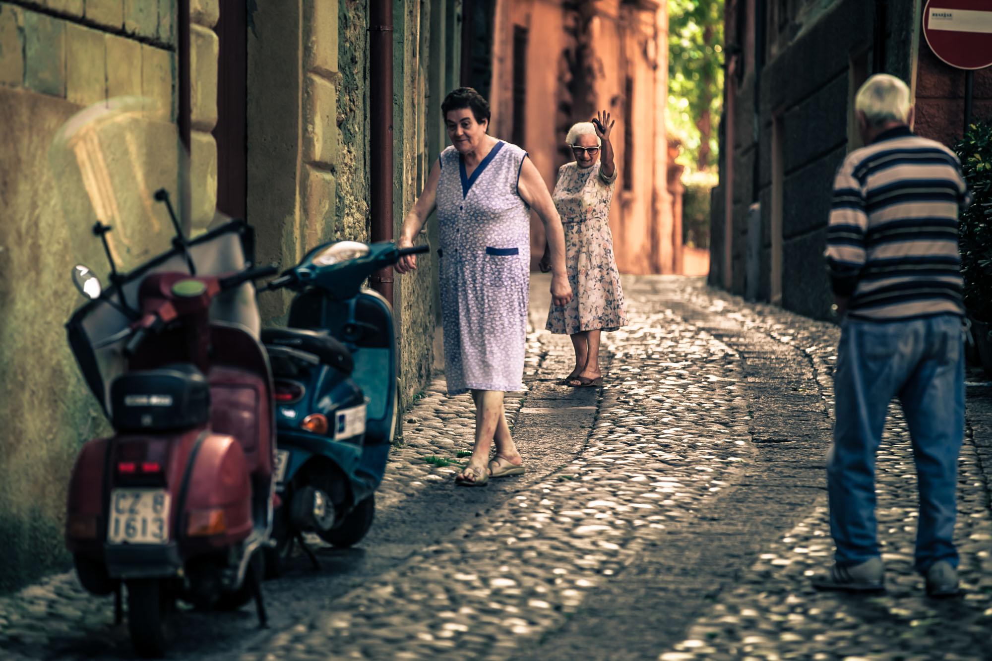 Op vakantie in Italië