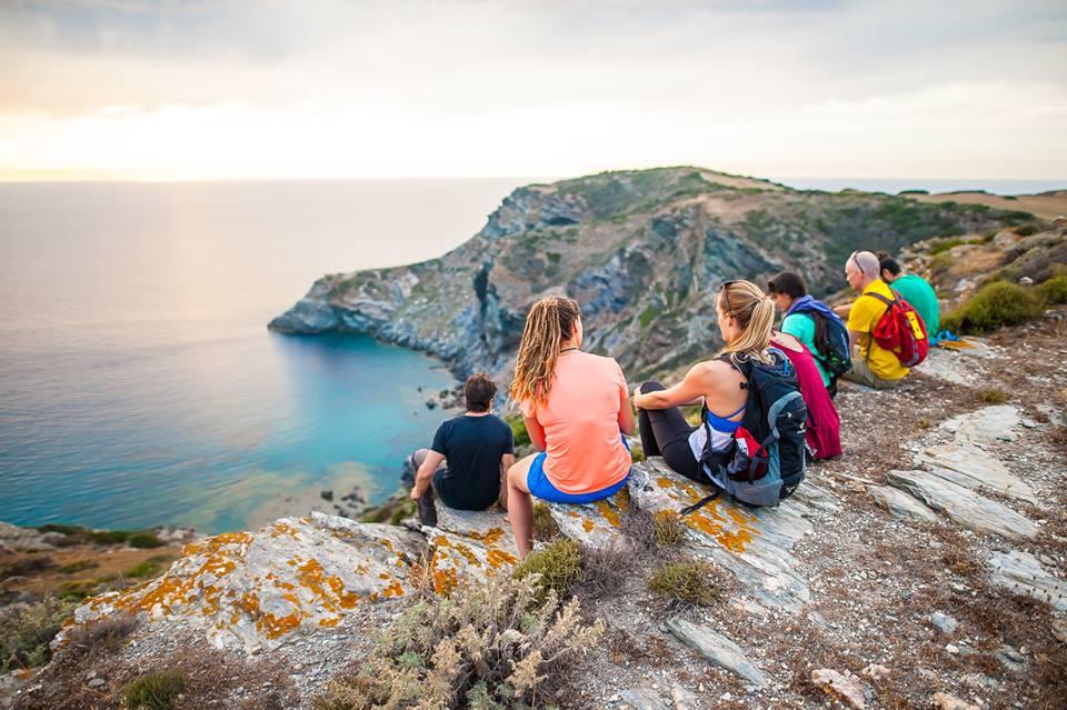Wandelen op Sardinië Italië-bedrijfsreizen