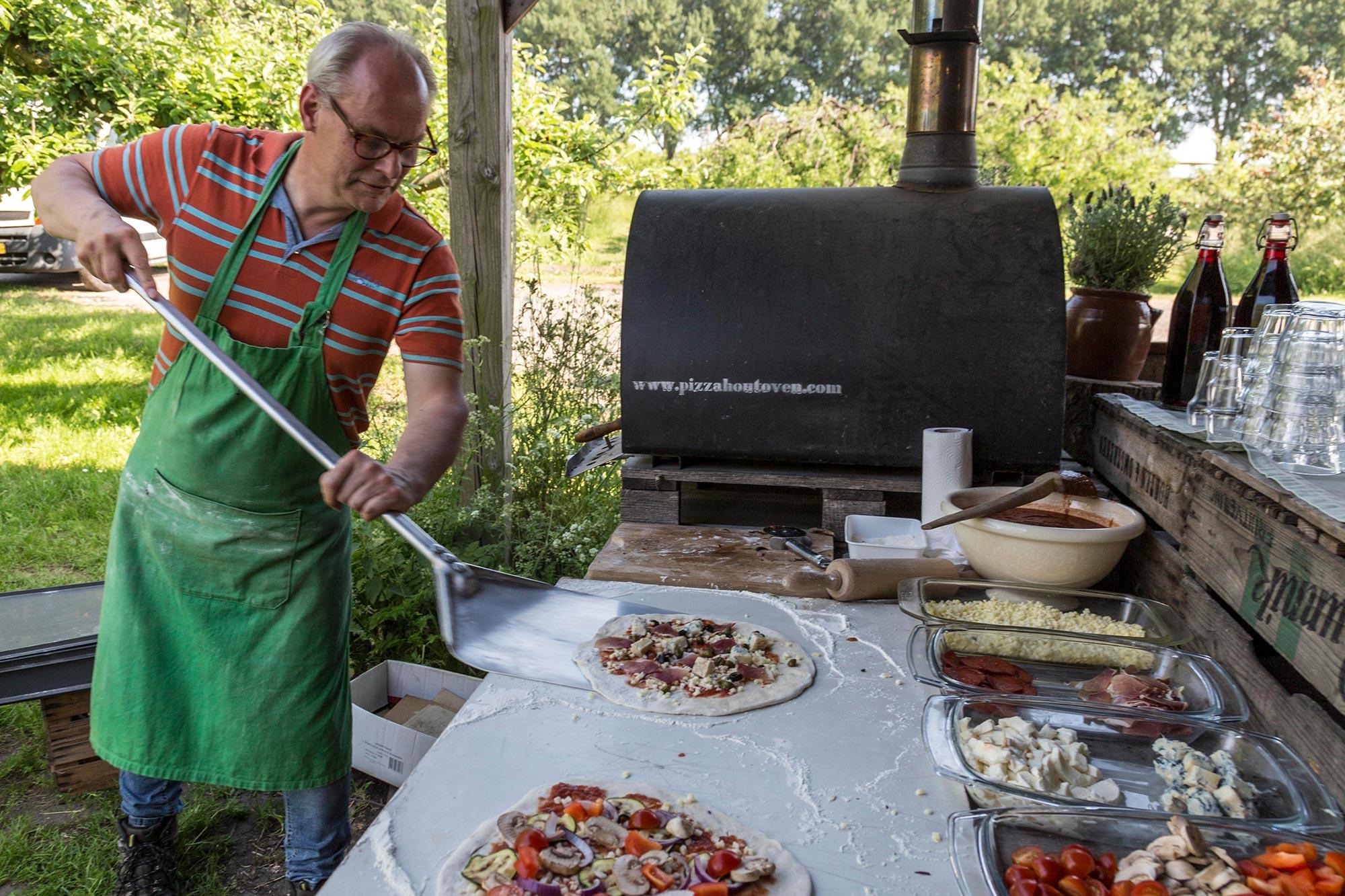 Workshop pizzabakken Kromme Rijnstreek Utrecht
