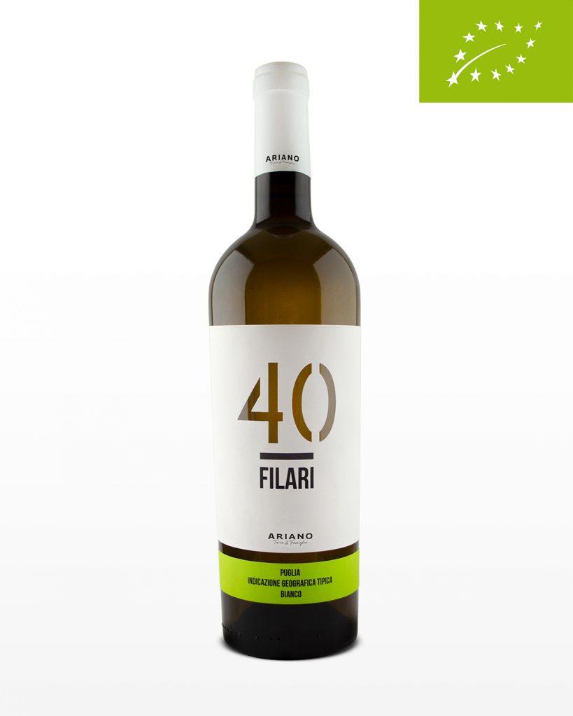 Biologische witte wijn 40 Filari
