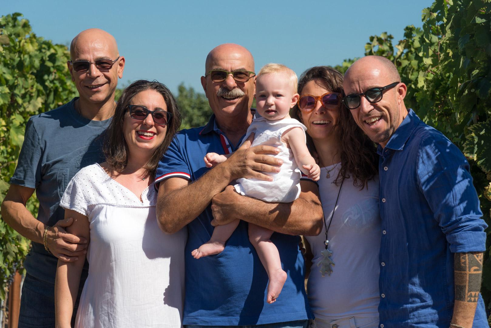 Familie Ariano wijnboerderij Cantina Ariano
