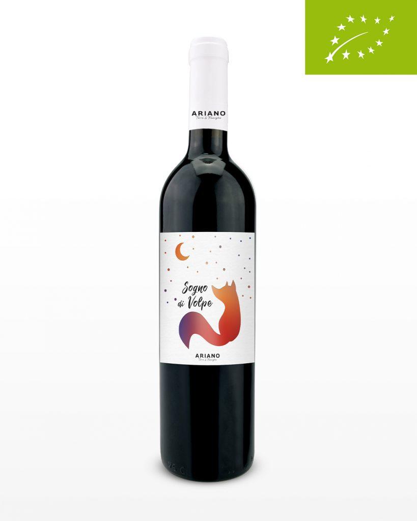 Sogno di Volpe rode wijn